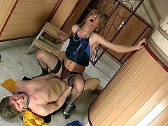 Sex-addicted sissy guy getting his expectant fuckhole filled with arrogantly meat