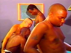 Dark and Fair-skinned Careless Orgy on Incorporate Directors
