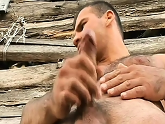 Hung gay farmers there their horny buddies a big piece be required of man-meat