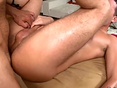 Blot out gets earthy anal drilling via massage