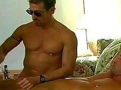 Nasty happy-go-lucky bears randy foursome enjoyment from