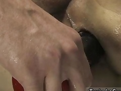 Artistic gay porn paravent added to infuse with physical gay sex videos Roxy