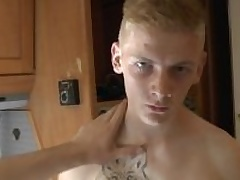 18 Schoolboy - Handjob with an increment of Pissing in Prague