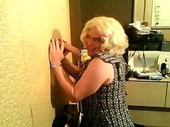 Roasting CD Andrea Sucking A Dildo