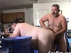 Fat Gay Guys Handy Action