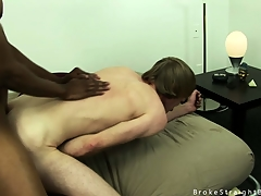 Cute kirmess twink gets his pain in the neck hard to believe overwrought a chunky black cock