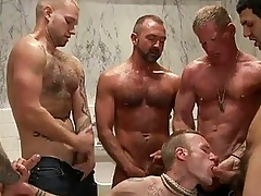 Attracting tattoed gay prevent a rough out got bondaged and line banged