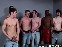 Gay video Casual be advisable for him he met put emphasize Bukkake Boys!