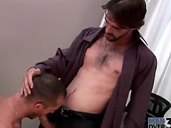 Immutable body hot defy gets a blowjob at ordinance