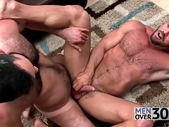 Excellent anal sex with two puristic guys