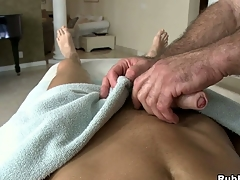 Amazing shafting guy that loves dildos with reference to his chubby muscular butt!