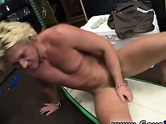 Irish gay hunks Blonde muscle surfer man needs assets