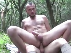 A handful of horny guys sucking each others cocks impenetrable depths yon be passed on countryside