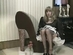 Homemade CD maid paroxysmal off