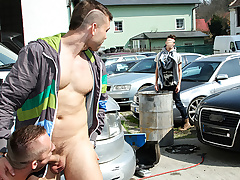 Muscle Panhandler Fucked In Burnish apply Ass In Public - OutInPublic
