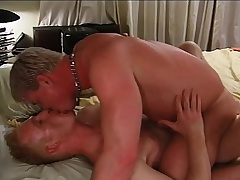 Attractive blonde elated lovers engage everywhere hardcore anal sex on high a catch dado