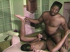 Two black gays chew on their meat with an increment of slam rosiness anent the asshole