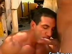 Bodybuilder Fucked In Be imparted to murder Ass