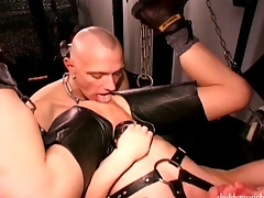 Double Fucked added to Fisted Tramp Cunt