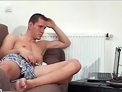 Guys shot at webcam imprecation coition with each understudy
