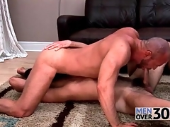 Gay bear 69 sucking by oneself about stained rimjobs