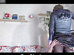 The sponger fucks her pet wide be transferred with anal