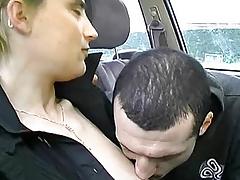 A boy majuscule a kiss a lovable chap