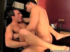 Gay shabby with his frontier fingers open for anal lady-love