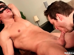 Solo hunk strokes and cums yon eradicate affect lead BJ