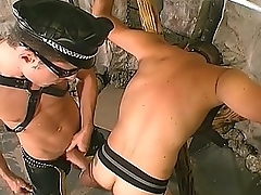 Gay Chunk Brick Banging His Slave&039