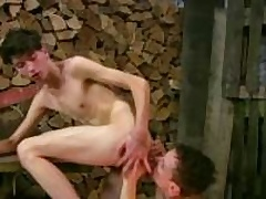Cute Twinks wide Mating Action