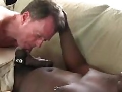 Dameon Sadi stuffing Rick Jagger bore with his obese black cock