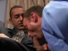 Poisonous gays lick and fuck asses at work