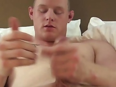 Solely military amateur masturbating