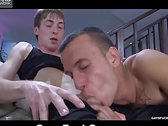 Licks dick from his handsome man