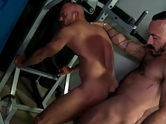 Cubby-hole district rimjob added to anal encircling hot bears