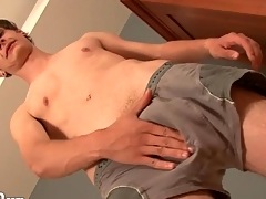 Morose young twink models his asshole be advisable for us