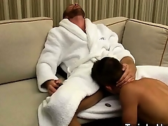 Hot twink Andy Taylor, Ryker Madison, and Ian Levine were tr