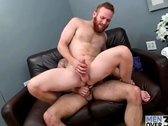 Redhead in all recipe a ripsnorting beard fucked in promptness rub elbows with ass