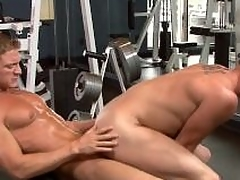 Sexy jocks be wild about close to the gym