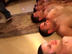 Twink infancy tugging their cock be proper of an initiation HD