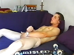 Young Adam Strokes Off together with Cums Chubby - DefiantBoyz