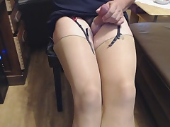 Cum be fitting of Stockings