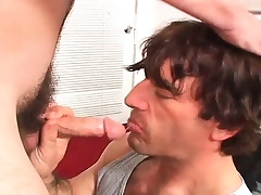 Sexy slender young twink gets his narrow ass pounded unchanging be required of definite