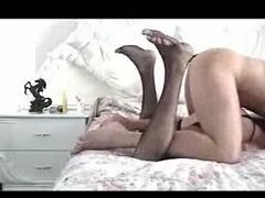 Joyous crossdresser fucked hard from sneakily