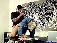 Twinks XXX Rabbi Hunter Coupled alongside Adam Watson