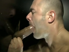 Be imparted to murder muscled dude obtain hard fuck away from a dick scan gloryhole