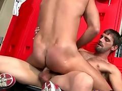 Hot guys in jockstraps shot at wonderful anal sexual congress