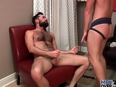 Hottie in jockstrap sucks keep to bushwa