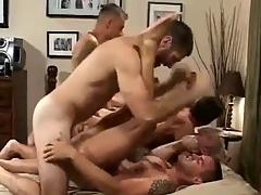 Hot Bareback Orgy (Complete)